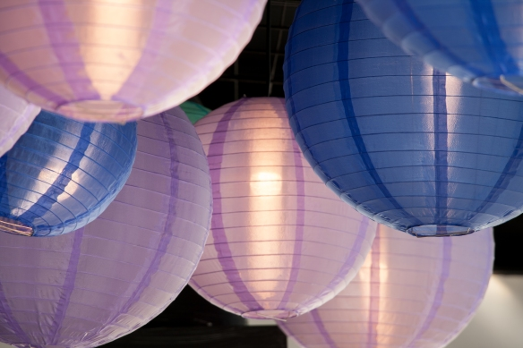 purple lanterns