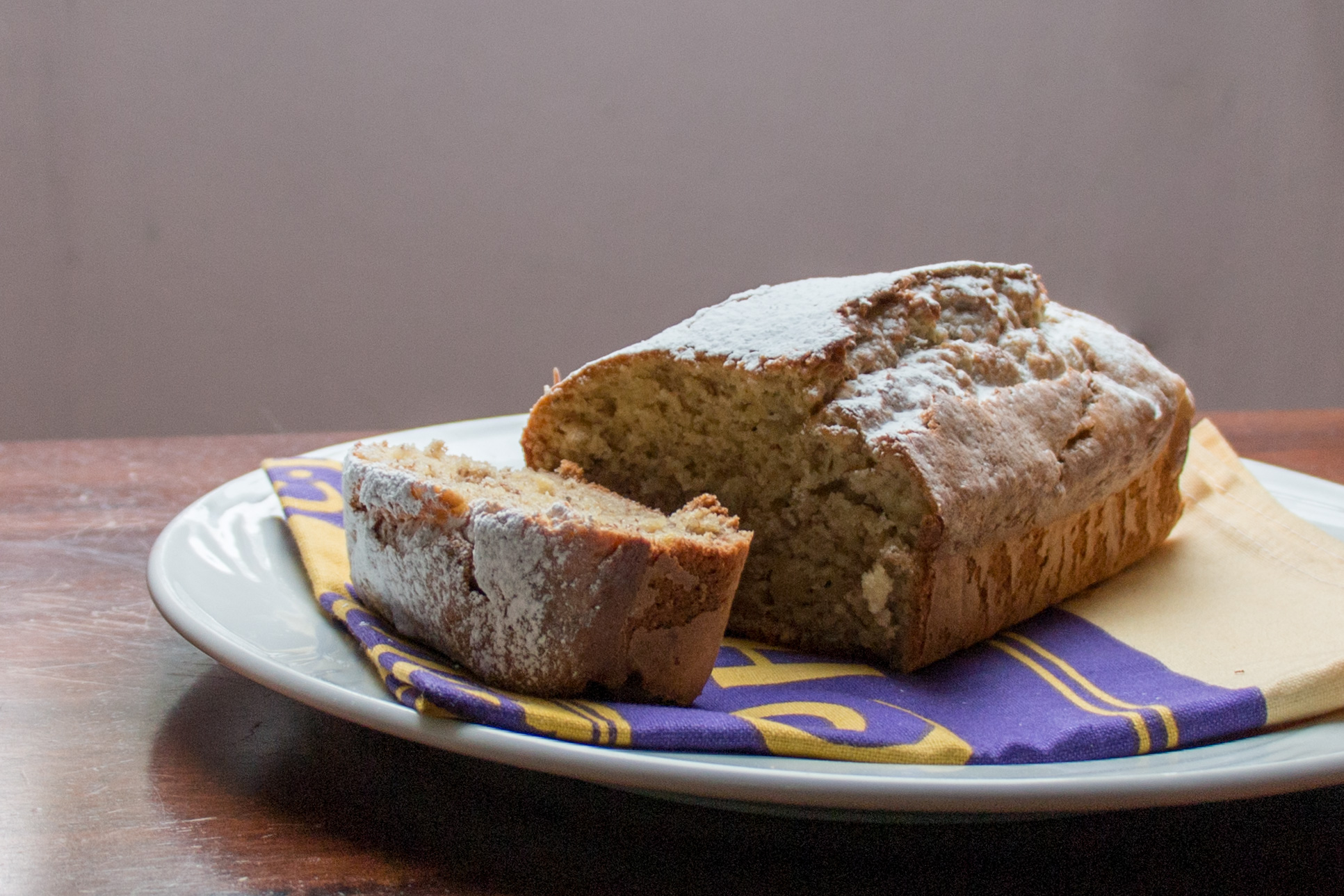 Banana loaf andieinspired banana loaf it has taken me a while to get this post sorted as i kept forgetting to take pictures for it but its fitting this is my first edmonds recipe forumfinder Choice Image