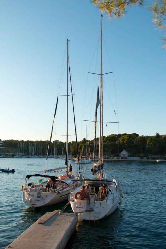Island of Brac, Split. Sail Croatia, MedSailors