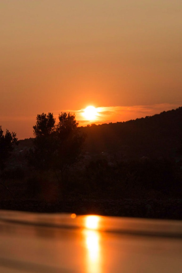 Sunset over Stari Grad historic Vineyard, Split. Sail Croatia, MedSailors