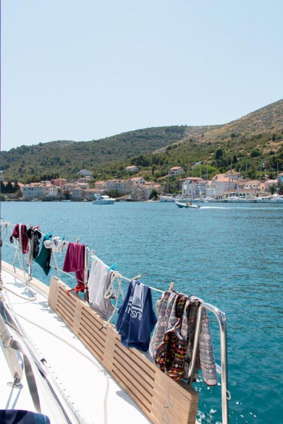 Boat Life. Vis. Sail Croatia, MedSailors