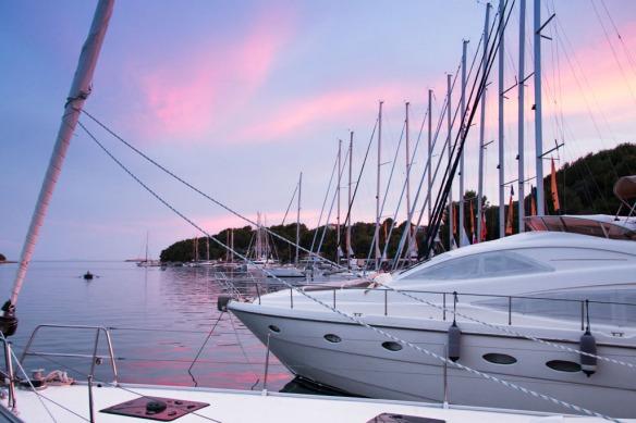 Sesula Bay. Sail Croatia, MedSailors