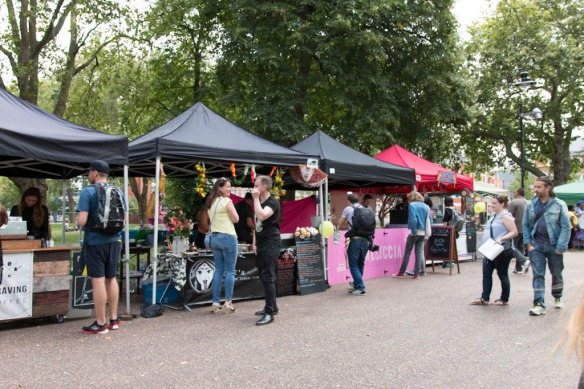 Tottenham green Market, Tottenham Hale
