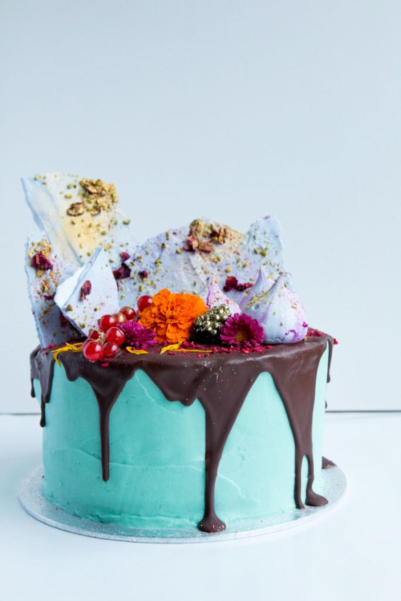 Electro Floral Cake Masterclass, London with Fondant Fox + Meringue Girls
