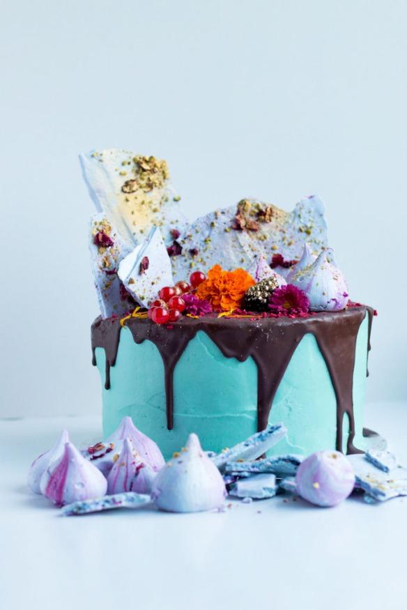 Electro Floral Cake Masterclass, London with Fondant Fox + Meringue Girls