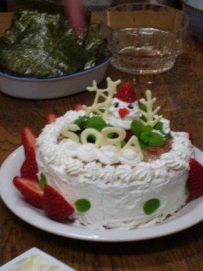 2011 Japan Christmas cake