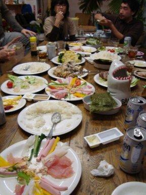 2011 Japan Christmas Dinner