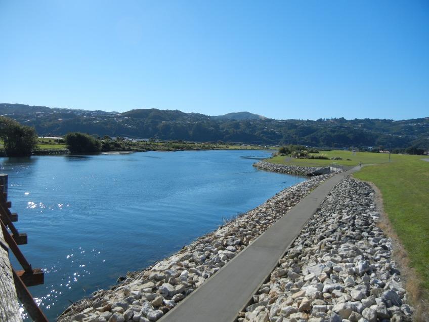 Hutt River, Lower Hutt, New Zealand